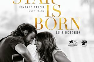A Star Is Born de Bradley Cooper affiche film cinéma