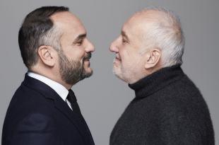 Par le bout du nez avec François Berleand et François-Xavier Demaison image théâtre comédie
