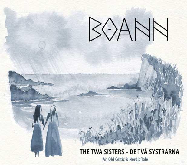 Boann album The twa sisters - De två systrarna image pochette album musique