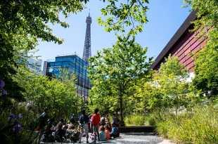 Jardin musée du quai Branly image