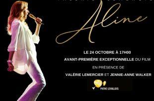 Concours Aline EN présence de valérie lemercier et Jennie-Anne Walker