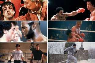 Rocky 1 à 6 images films cinéma