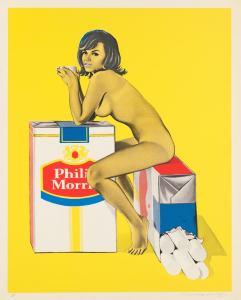 POP ART - ICONS THAT MATTER. COLLECTION DU WHITNEY MUSEUM OF AMERICAN ART image Mel Ramos Tobacco Rhoda