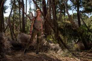 Tomb Raider photo film