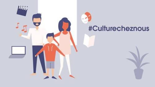 #culturecheznous du Ministère de la Culture