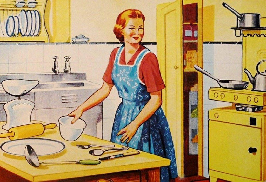 femme aux fourneaux - cuisine