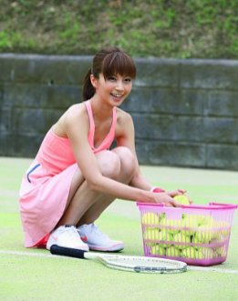 tennis bijin 1