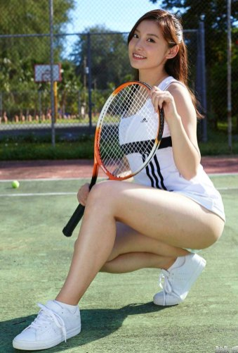 tennis bijin 26