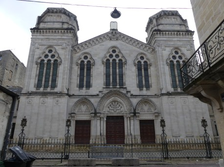 Synagogue de Bordeaux en France