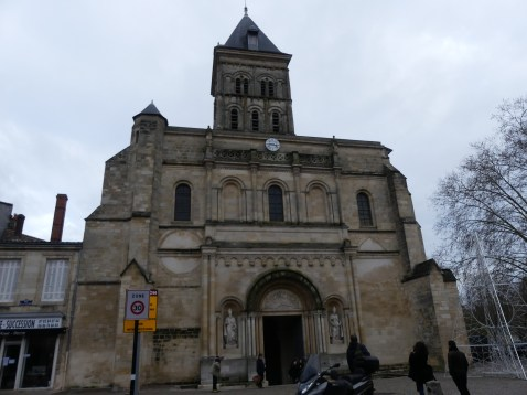 Basilique Saint Seurin à Bordeaux en France