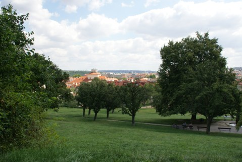 Colline de Petrin à Prague