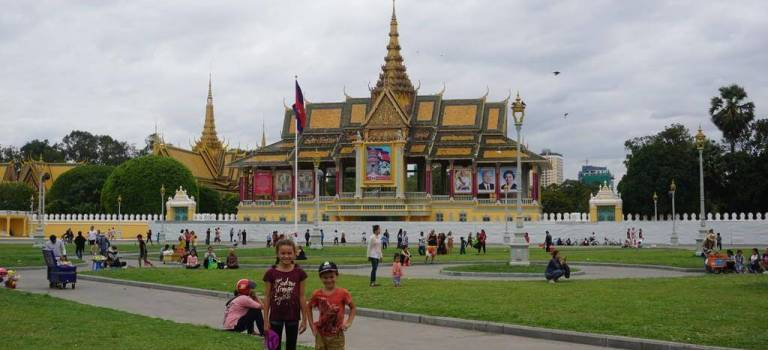 Phnom-Penh, une capitale contrastée