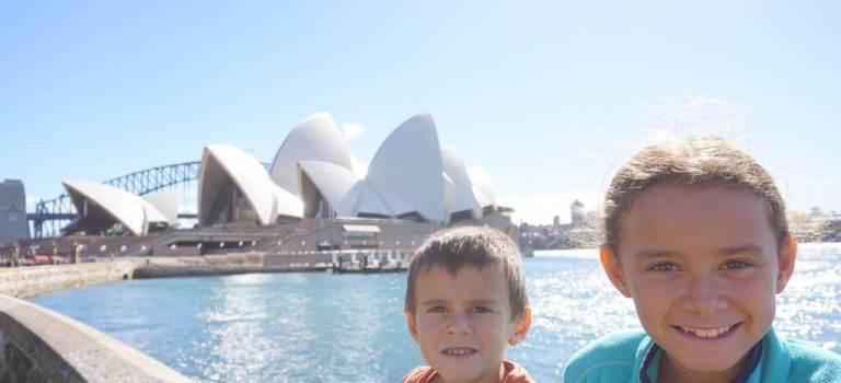 Notre vision de l'Australie, par Fleur et Robin.