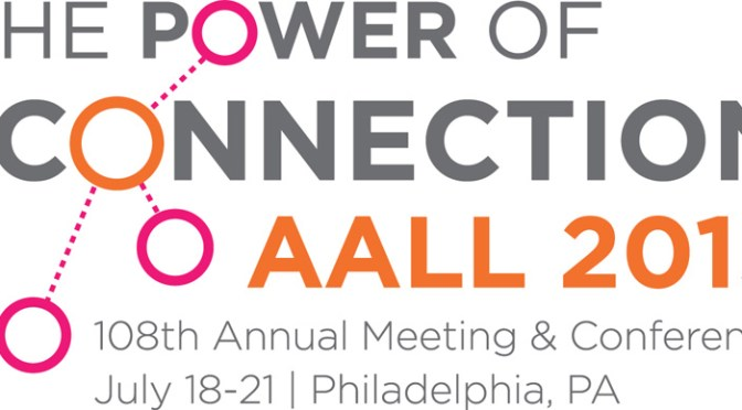 AALL 2015 Philly logo