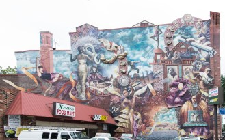 Theater of Life mural