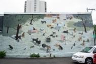 Gimme Shelter mural