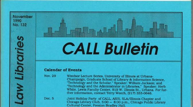 CALL Bulletin HeinOnline Update