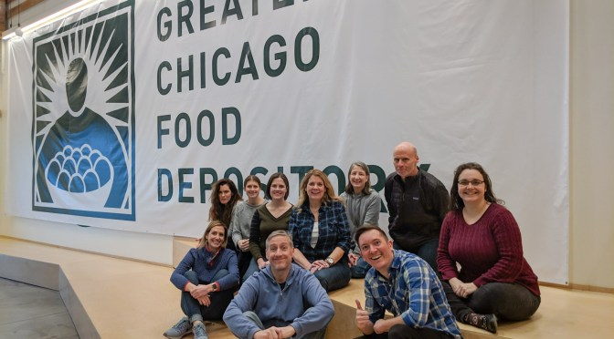 Volunteer Day at Greater Chicago Food Depository