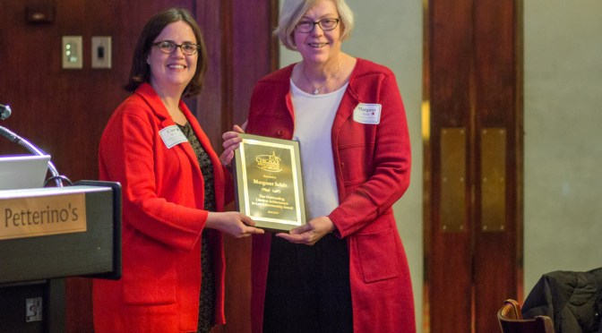 Margaret Schilt Receives Lifetime Achievement Award