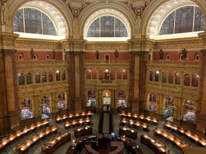 Library of Congress Reading Room (photo by Sarah Walangitan)