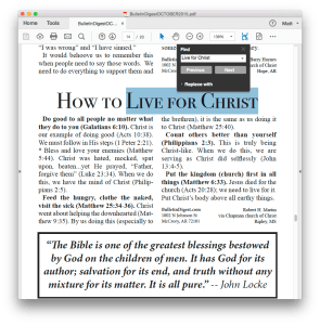 searchable church newsletter articles