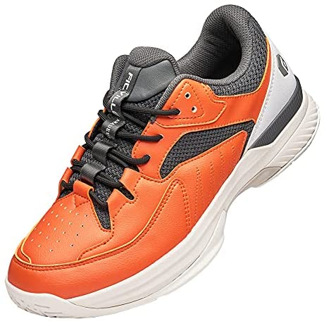 FitVille Wide Width Tennis Shoes with Arch Support Non-Slip Pickleball Sports Sneakers - Court Tennis Amadeus