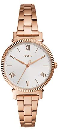 Fossil Women's Daisy Stainless Steel Casual Quartz Watch