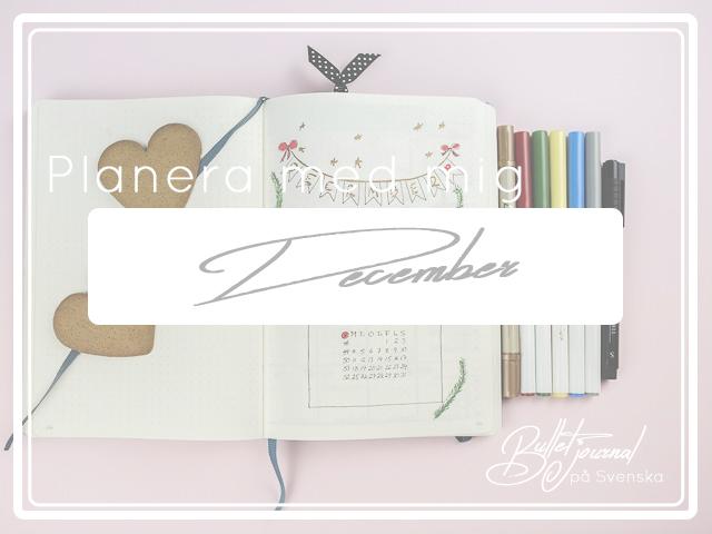 Planera med mig December