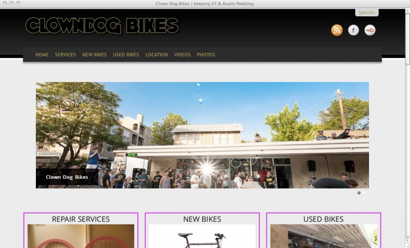 Clown Dog Bikes - Home Page