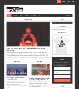 Magazine Website WordPress