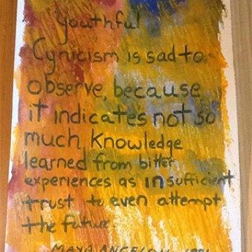 Maya Angelou's Recent Birthday