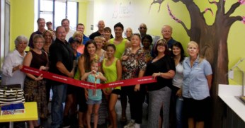 Fresh FroYo + Smoothie Bar Ribbon Cutting Bullhead Area Chamber of Commerce Bullhead City AZ Arizona Mohave County