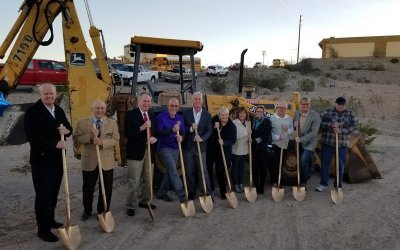 Bullhead City Shelter & Day Center Groundbreaking Ceremony