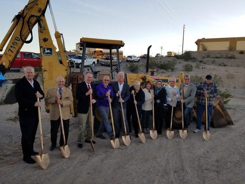 Bullhead City Shelter & Day Center Groundbreaking Ceremony