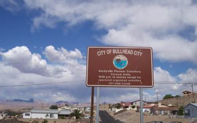 Hardyville to Bullhead City