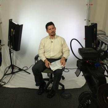 In-office studio set at Vanderbilt Medical Center