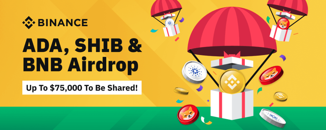 How to Join ADA, SHIB & BNB Airdrop by Binance Exchange