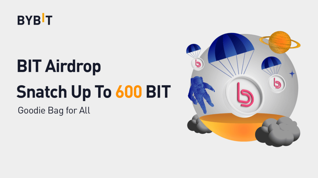 Bybit Airdrop - How to Claim 600 BIT TOKEN