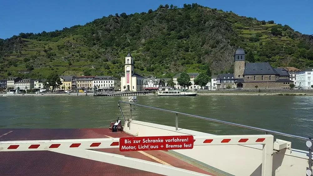 Start der Bodensee-Tour – Rhein und Loreley