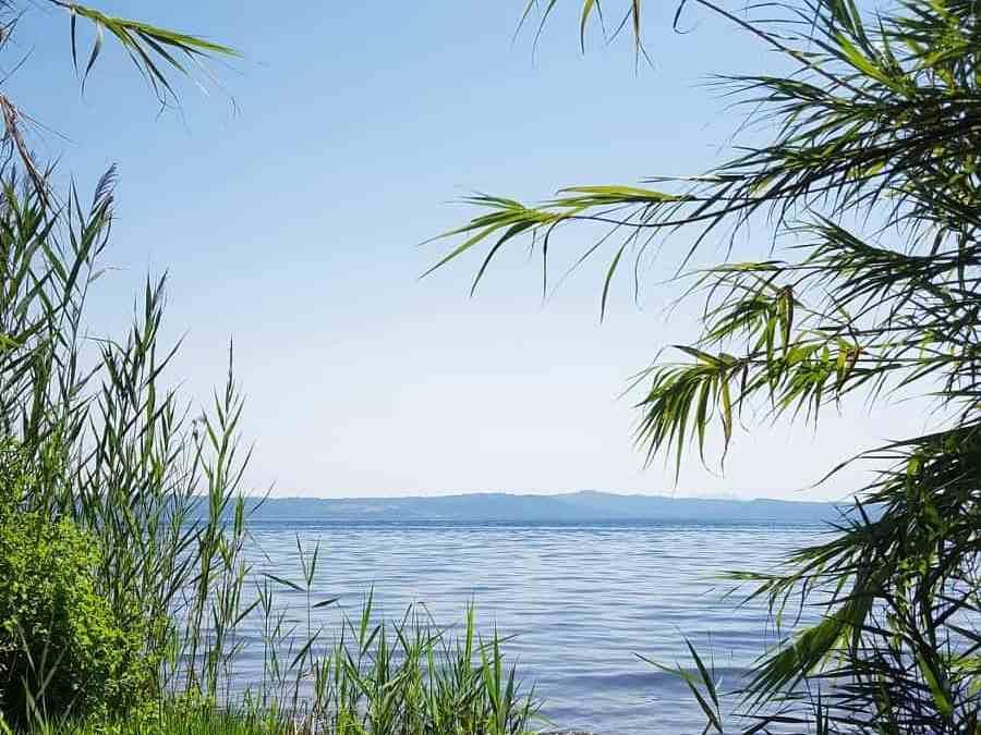 Stellplatz am Lago di Bolsena