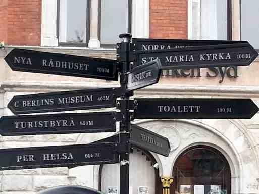 Ystad Südschweden