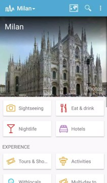 Triposo Travel Guide Milan