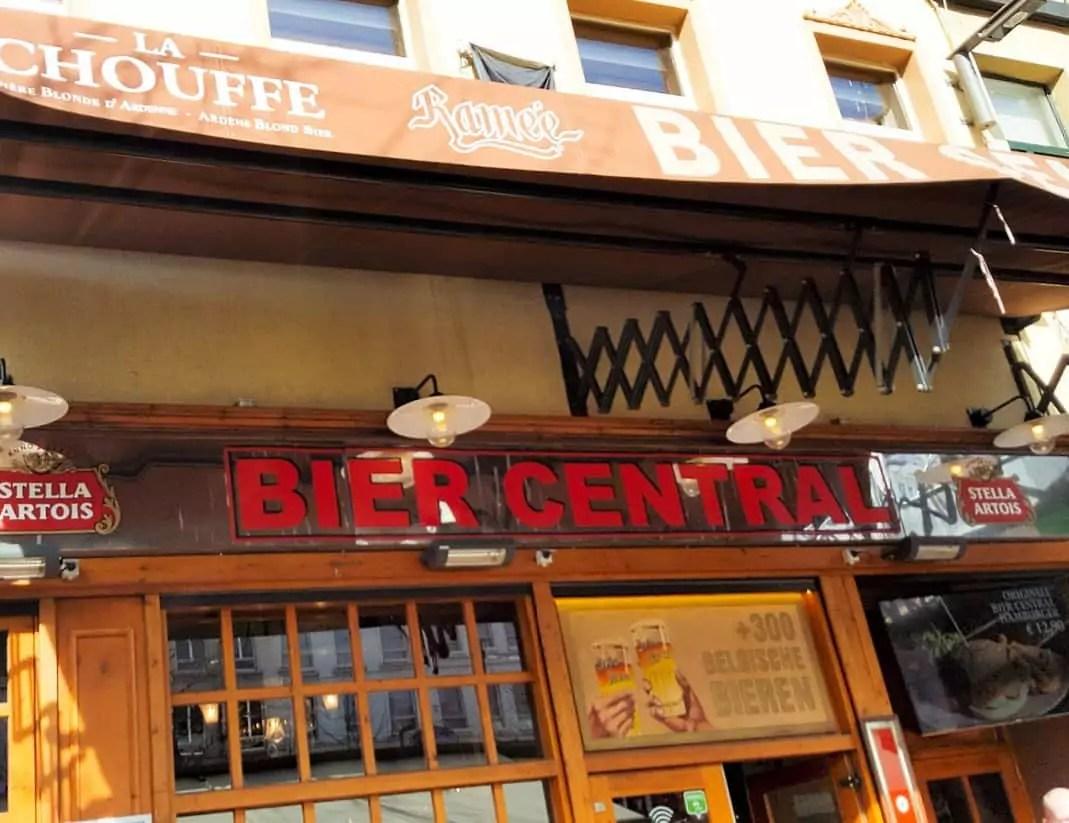 Anwerben - Bier Central