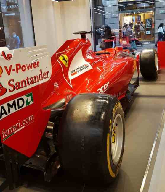 Ferrari Bolide Mailand