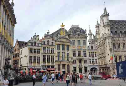 Brüssel mit Kind - Grand Place