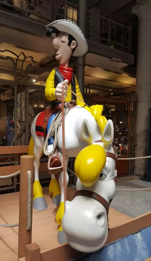 Was machen mot Kind in Brüssel? z.B. Besuch im Comic Museum