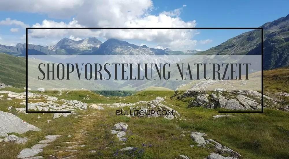 Vorstellung Onlineshop naturzeit