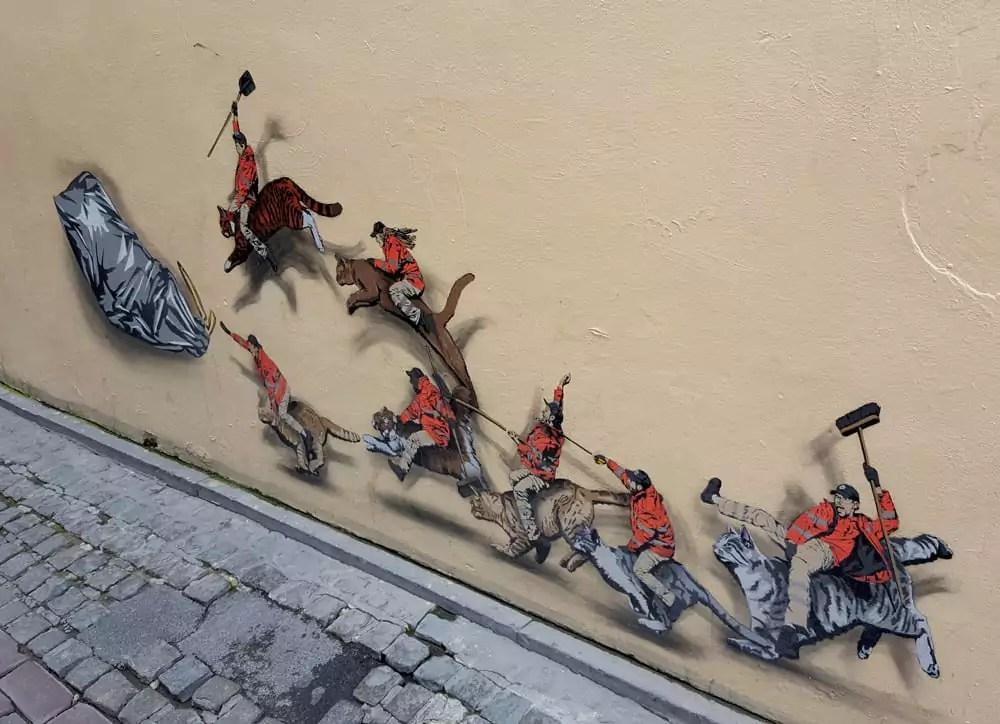 Ideen für eine Städtereise nach Brüssel - Streetart