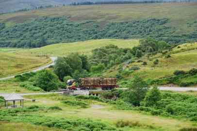 Goldwaschen in Schottland
