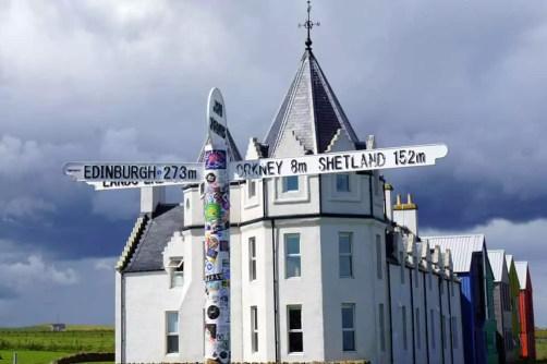 Bullitour Schottland - John o'Groats